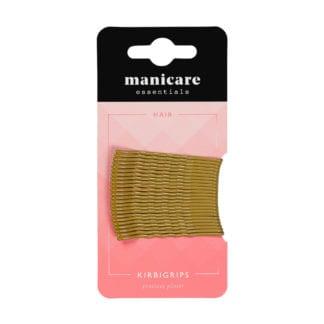 Manicare 24 Kirbi Grips 5cm Blonde (12 pack)
