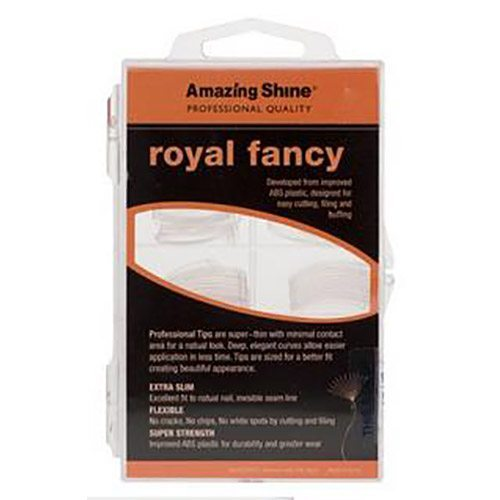 Amazing Shine Royal Fancy Nail Tip - Clear (100)