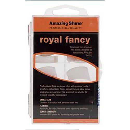 Amazing Shine Royal Fancy Nail Tip - French White (100)