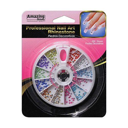 Amazing Shine Professional Nail Art Rhinestone Wheel (4 Pk)