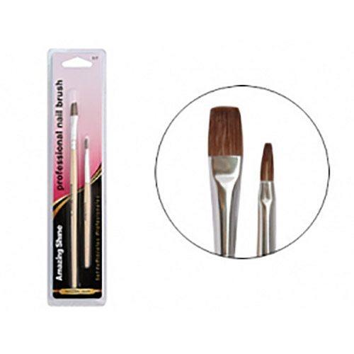 Amazing Shine Professional 2pc Nail Gel Brush Set (1pc)