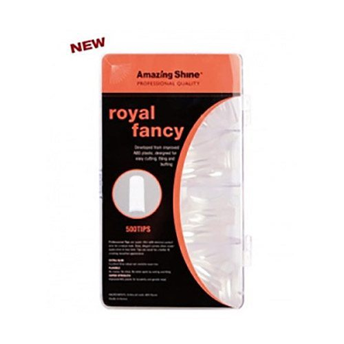 Amazing Shine Royal Fancy Nail Tips - Clear (500)