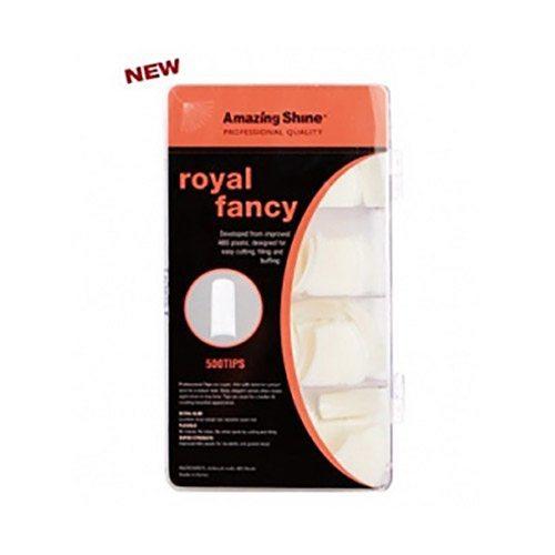 Amazing Shine Royal Fancy Nail Tips - Natural (500)