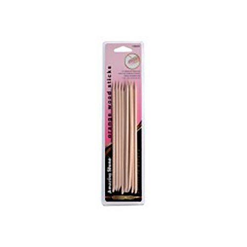 Amazing Shine Orange Wood Stick (12 Pack)