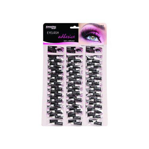 Amazing Shine Eyelash Glue Card (36pcs)Amazing Shine Eyelash Glue Card (2pcs in bag)/36bags per card
