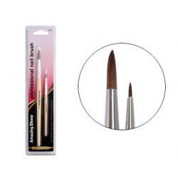 Amazing Shine Professional 2pc Acrylic Nail brush Set (1pc)