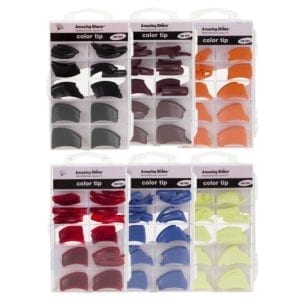 Amazing Shine 100 Professional Colour Tips (10 Assorted Packs)
