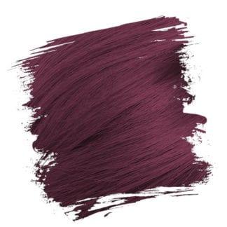 Crazy Color Semi Permanent Hair Dye - Aubergine (100ml)
