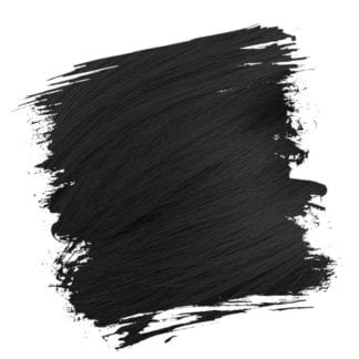 Crazy Color Semi Permanent Hair Dye - Black (100ml)