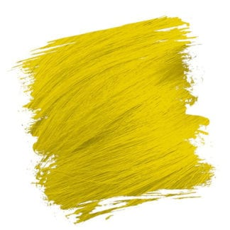 Crazy Color Semi Permanent Hair Dye - Canary Yellow (100ml)