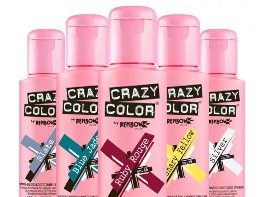 Crazy Color Hair Dye 100ml (4pc) (41 Shades)