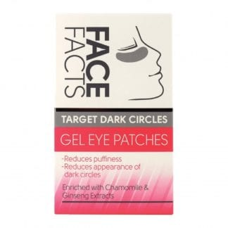 Pretty Face Facts Gel Eye Patches - Target Dark Circles (12pk)