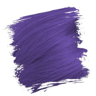 Crazy Color Semi Permanent Hair Dye - Hot Purple (100ml)