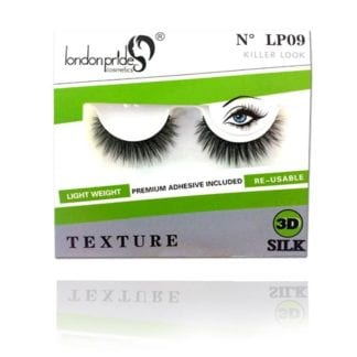 London Pride 3D Silk Texture Eyelash (LP09) (6pc)