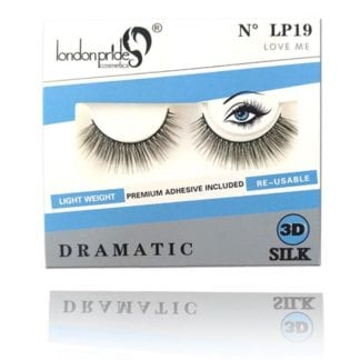 London Pride 3D Silk Dramatic Eyelash (LP19) (6pc)