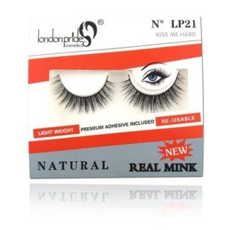 London Pride Real Mink Natural Eyelash (LP21) (6pcs)