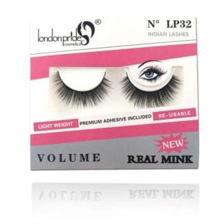 London Pride Real Mink Natural Eyelash (LP32) (6pcs)