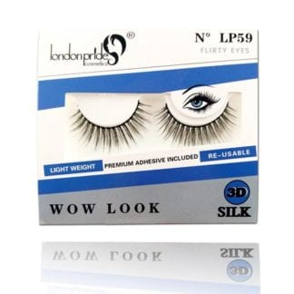 London Pride 3D Silk Wow Look Eyelash (LP59) (6pc)