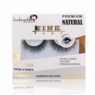London Pride Mink Faux Premium Natural Eyelashes (LP65) (6pcs)