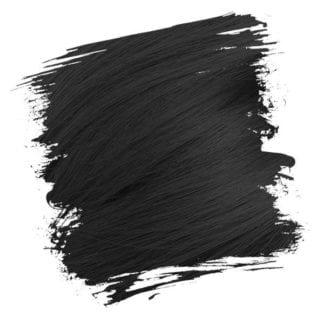 Crazy Color Semi Permanent Hair Dye - Natural Black (100ml)