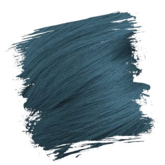 Crazy Color Semi Permanent Hair Dye - Peacock Blue (100ml)