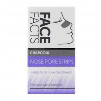Pretty Face Facts Charcoal Nose Strips (12pcs)