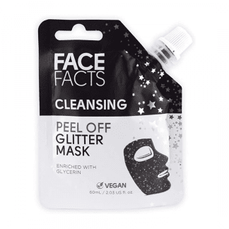 Pretty Face Facts Glitter Peel Off Mask - Cleansing (12pcs)