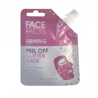 Pretty Face Facts Glitter Peel Off Mask - Firming (12pcs)