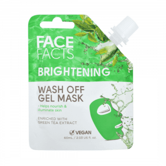 Pretty Face Facts Wash Off Gel Mask - Brightening (12pcs)