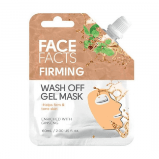 Pretty Face Facts Wash Off Gel Mask - Firming (12pcs)