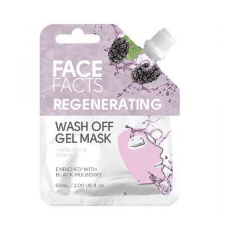 Pretty Face Facts Wash Off Gel Mask - Regenerating (12pcs)