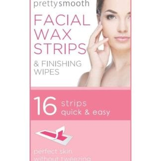 Pretty & Smooth Facial Wax Strips & Finishing Wipes (12pc)