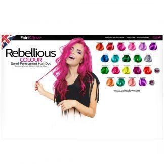 Rebellious Colours Semi Permanent Hair Dye – 100ml (11 Shades) (1pc)