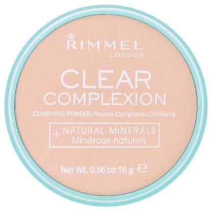 Rimmel Clear Complexion Powder - Transparent (1pc)