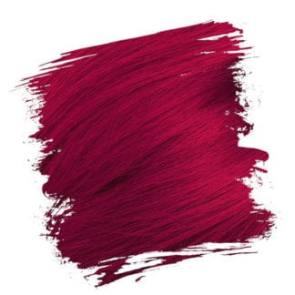 Crazy Color Semi Permanent Hair Dye - Ruby Rouge (100ml)