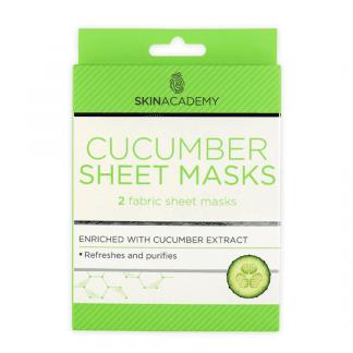 Skin Academy Sheet Mask - Cucumber (12pcs)