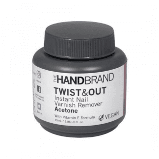 The Hand Brand Twist & Out Nail Varnish Remover - Acetone (12pc)