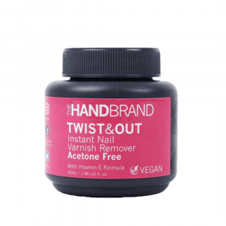 The Hand Brand Twist & Out Nail Varnish Remover - Acetone Free (12pc)