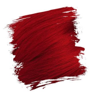 Crazy Color Semi Permanent Hair Dye - Vermillion Red (100ml)