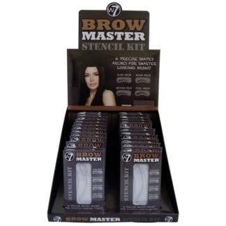 W7 Brow Master Stencil Kit (24pcs)