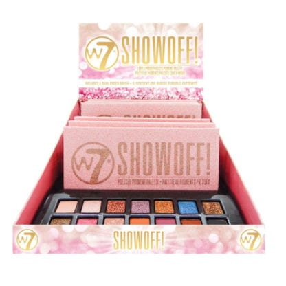 W7 Show Off! Pressed Pigment Palette (6pcs)
