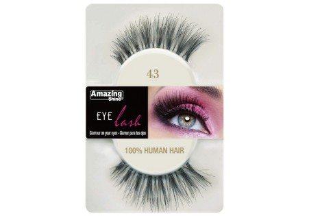 Amazing Shine Human Hair Eyelashes (12pk)