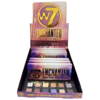 W7 Enchanted Pressed Pigment Palette (6pc)
