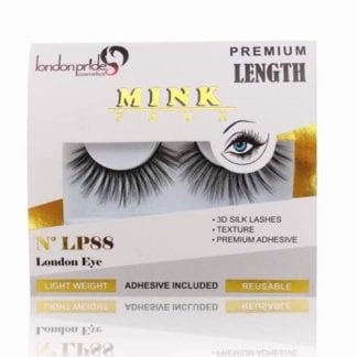London Pride Mink Faux Premium Length Lashes (LP87) (6pcs)