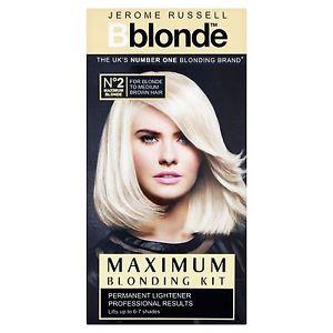 Jerome Russell (Bblonde) - Maximum Blonding Kit (6pc)