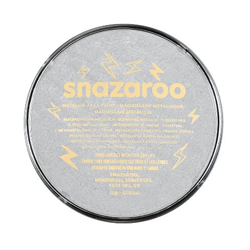 Snazaroo Metallic Face Paint 18ml (5pc) (2 Shades Available)