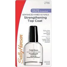 Sally Hansen Advanced Hard As Nails Strengthening Top Coat (2pcs)